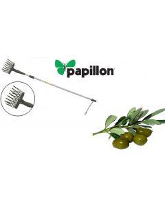 abbacchiatore abbacchiatrice scuotiolive scutitore per olive telescopico a batteria papillon