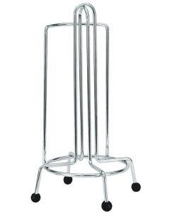 Artex Kitchen portarotolo portascottex da tavolo in acciaio cromato