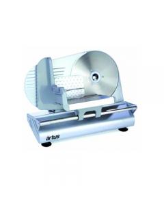 Artus A22 affettatrice salumi elettrica in alluminio e acciaio motore 150 W lama in acciaio inox