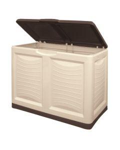 Bama baule metti tutto box contenitore per legna giochi attrezzi per interni e esterni cm 78 x 45 x h 64
