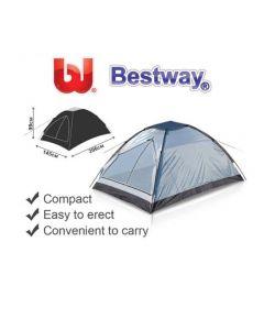 Bestway Monodome tenda da campeggio 2 posti cm 145 x 206 x h 99. EAN 6942138922455