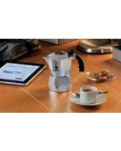 Bialetti Brikka Elite caffettiera in alluminio per 4 tazze