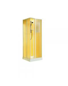 Box doccia angolare bianco cm 68 x 79 x h 185