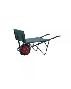 Bragagno carriola piana per agricoltura. Ruota pneumatica diametro mm 400. Piano d'appoggio di dimensioni cm 80 x 66.