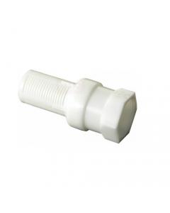 Bucchi valvola di fondo in nylon con filtro e corpo e filtro in resina