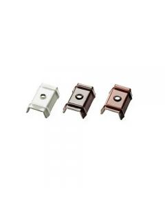 Cappellotto con guarnizione in EPDM mm 50 x 25. Cappellotto disponibile nel colore rosso siena, bianco grigio, testa di moro