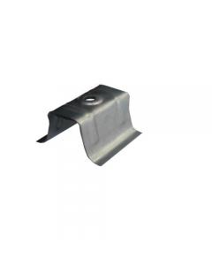 Cappellotto zincato con guarnizione in polipropilene plastica