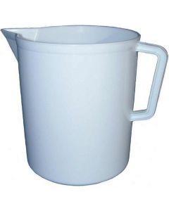 Caraffa graduata prodotta da Ics disponibile in tre capacità: 1 litro, 3 litri, 5 litri