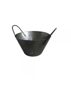 Cardarella muratore carpentiere in acciaio con 2 manici diametro cm 34