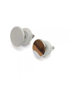 Diesse tappo copriforo per sanitari in metallo diametro mm 50