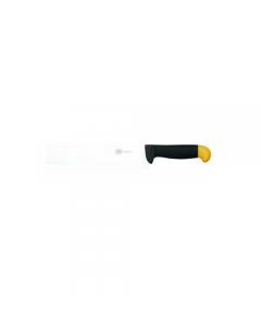 Due Buoi art. 809 coltello per salumi lama lunghezza cm 24 in acciaio inox