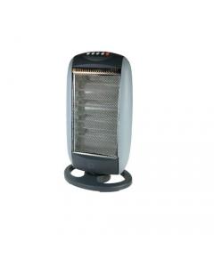 Dusty Kos stufa elettrica alogena 4 lampade cm 36 x 17 x h 65. 4 selezioni riscaldanti 400 / 800 / 1200 / 1600 Watt. Protezione termica