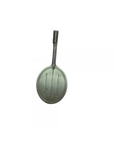Falci pala girapizze in acciaio inox con manico in alluminio lunghezza cm 175 diametro cm 19