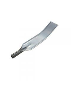 Falci rimuovi brace per forno in acciaio inox cm 34 x 9 fornita senza manico