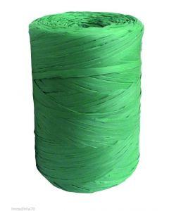 Filo rafia in polipropilene colore verde a rocchetto