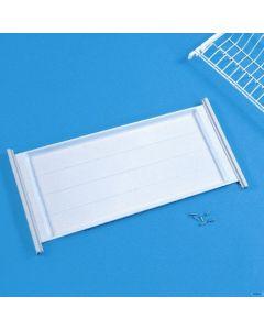 Filtex vaschetta raccogligocce  plastificata cm 83 x 23 x 2