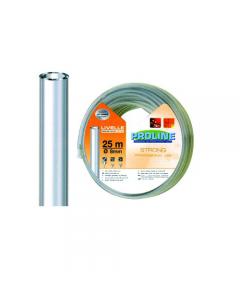 Fitt tubo cristallo per livello con imbuto e 2 tappi diametro mm 8 x metri 25