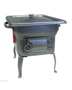 Fornellino barbecue a carbone modello pic nic cm 22,5 x 22,5 x 22,5