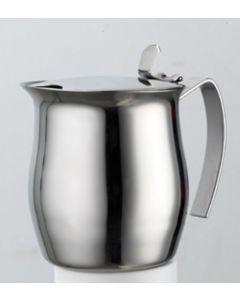 Frabosk bricco a servire in acciaio inox 18/10 disponibile in versione 2 tazze, 4 tazze, 6 tazze.