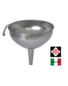 Frabosk imbuto in acciaio inox disponibile in diametro cm 12 e cm 14.
