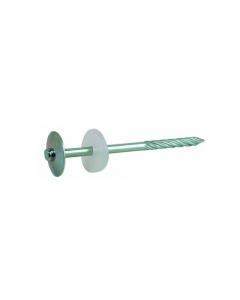 Friulsider chiodi autofilettanti per coperture zincate con rondella circolare in polipropilene
