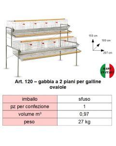 gabbia-a-2-piani-per-galline-ovaiole-cm-207-x-100-x-h-150
