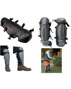 gambali parastinchi per decespugliatore protezione paracolpi paragambe coppia