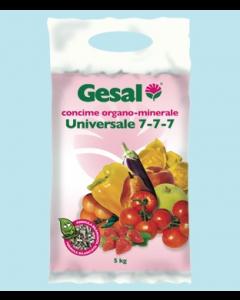 Gesal concime universale 7 7 7, sacco da 5 kg