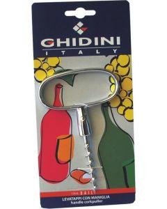 Ghidini Daily art.11 levatappi cavatappi con maniglia cromato