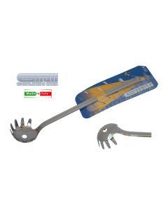 Gnali Eco mestolo per spaghetti in acciaio inox 18/10