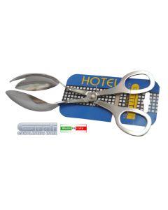 Gnali Hotel molla forbice per insalata in acciaio inox 18/10 cromato