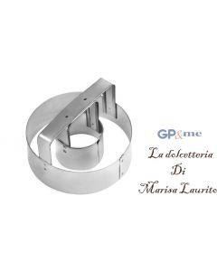 GP&me formina per ciambelline in metallo