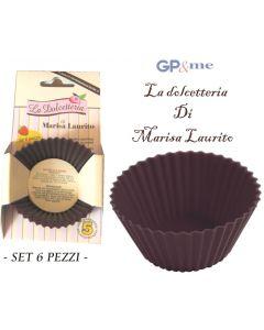 GP&me stampo per muffin in silicone blister 6 pezzi
