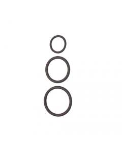 Guarnizione o-ring per idraulica e rubinetteria confezione 219 pezzi misure assortite in scatola