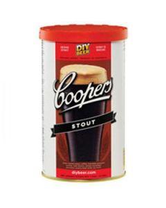 Home brew birra fatta in casa malto Cooper Stout contenitore 1,7 kg