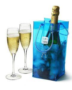 Ice Bag Basic Blue secchiello portaghiaccio per bottiglia di vino o spumante