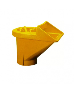 Ics tramoggia per convogliatore di macerie colore giallo