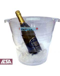 Ilsa Crystal secchiello per champagne diametro cm 26 altezza cm 25