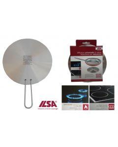 Ilsa diffusore universale di calore per induzione disponibile in diametro cm 16 e cm 21.