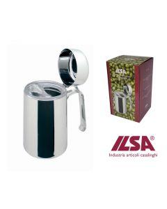 Ilsa oliera con dosatore salvagoccia capacità 100 cl in acciaio inox 18/10