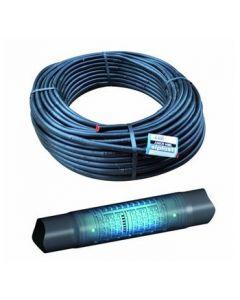 Irritec tubo in polietilene gocciolante nero spaziatura cm 33 per irrigazione agricoltura e giardino