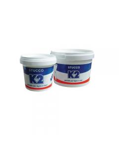 K2 stucco in pasta. Stucco bianco o colorato, raccomandato per mobili, infissi e muri. Inodore, non imputridisce ed è sempre pronto all'uso.