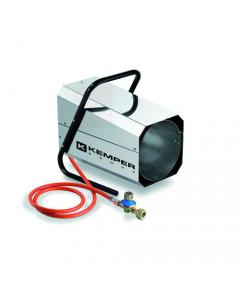 Kemper QT101R Inox generatore di aria calda