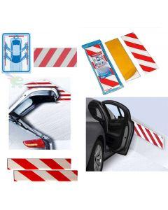 kit 10 pezzi pannello antiurto adesivo paraurti salva auto per evitare urto alle pareti di parcheggio parcheggi e garage