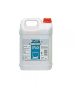 Kroll pasta lavamani cremosa Daysoft Ph 5,5. Detergente liquido cremoso dal profumo fresco e delicato indicato per lavaggi frequenti. tanica da 5 litri