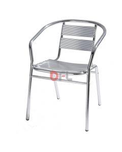 Life in Garden sedia in alluminio con braccioli