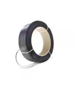 Maestri reggetta manuale in polipropilene in bobina di diametro interno cm 39 e lunghezza metri 1500. Larghezza reggetta mm 15 e spessore mm 0,8.