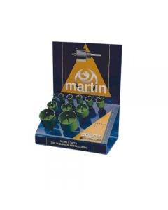 Martin espositore di seghe a tazza Cobra - 11 pezzi. con denti in acciaio duro per forare laterizi e materie plastiche. Assortimento: 16 - 22 - 25 - 27 - 30 - 34 40 - 43 - 49 - 61 - 70.