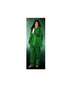 Maurer abbigliamento da lavoro impermeabile antistrappo completo con cappuccio in poliestere/pvc e fori di aerazione