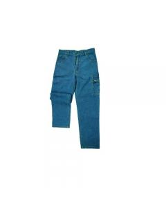 Maurer abbigliamento da lavoro per edilizia pantaloni jeans multitasche in cotone 100%